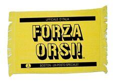 Boston Bruins HOCKEY Italian Rally Towel - Forza Orsi!