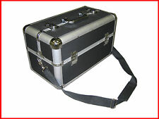Large Pro Makeup Aluminum Train Case Black Free Shipping in Canada