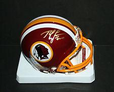 ROBERT GRIFFIN III Signed Washington Redskins MINI Helmet Autograph JSA