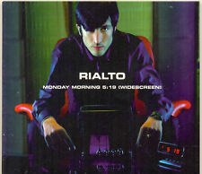 RIALTO ~ Monday morning 5:19 widescreen,4 track CD single
