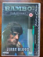 Rambo First Blood DVD I 1 1982 Sylvester Stallone Action Movie Classic