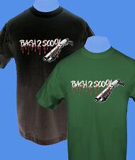 Männer Herren T-Shirt Back2Scool move2be Schule S M L XL grün schwarz