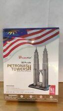 Puzzle 3D Petronas Towers - 88 pieces - Cubic Fun