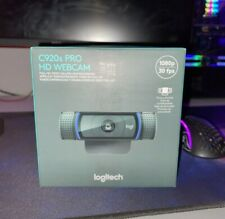 LOGITECH C920S PRO HD WEBCAM WITH PRIVACY SHUTTER *FAST FREE SHIPPING!* 🚚✅