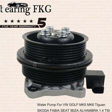 Water Pump For VW GOLF MK5 MK6 Tiguan SKODA FABIA SEAT IBIZA ALHAMBRA 1.4 TSI