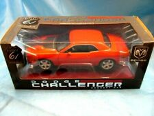 Highway 61 Dodge Challenger Concept Car 1:18 Scale Mint Orange