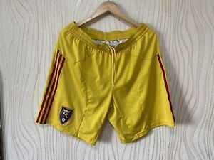 REAL SOLT LAKE FOOTBALL SOCCER SHORTS ADIDAS PLAYER ISSUE