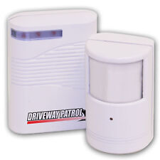 Driveway Alarm Sensor Wireless Infrared Home Sensor Alert Gate Fence Chime NEW!!