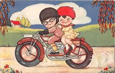 POSTCARD  CHILDREN  MOTOR  BIKE  Related  The  Two  of  Us