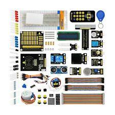 KEYESTUDIO Raspberry Pi Starter Kit PCF8591 Shield, LEDs, Resistors, Sensors,...