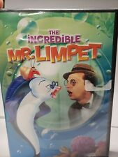 The Incredible Mr. Limpet (DVD, 2009) Brand New Sealed!