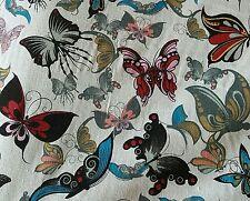 Papillon en lin toile tissu par le demi mètre