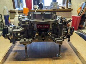 Edelbrock 1806 Thunder Series AVS Carburetor 4v 4bbl 650 CFM Electric Choke 4bbl