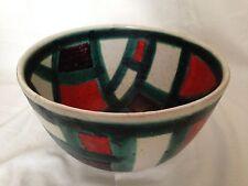 signed GUIDO GAMBONE Studio Ceramic bowl Italy iconic designer 60s/ Donkey mark