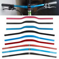 Aluminium Alloy Bicycle MTB Mountain Bike Handlebar Riser Bar 31.8mm Extra Long