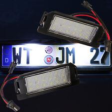 LED SMD sehr helle weiße Kennzeichen Beleuchtung Nummernschild Leuchte [71704]
