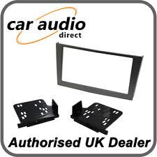 Vauxhall Anthracite Métallique Simple Din Panneau Avant Fascia Plaque Kit de montage Adaptateur