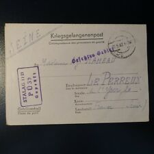 LETTRE PRISONNIER DE GUERRE STALAG II D 27.05.42 KRIEGSGEFANGENENPOST POW