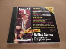 "TOTAL GUITAR "" VOLUME 16 "" CD EXCELLENT HENDRIX / ROLLING STONES"
