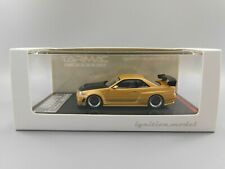 Tarmac Works Exclusive Ignition Model NISSAN Nismo R34 GT-R Z-tune Gold 1:64
