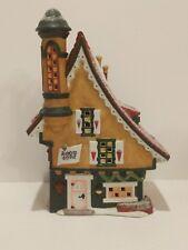 Retired Heritage Village North Pole Series Elfin Snow Cone Works #56332,Dept. 56