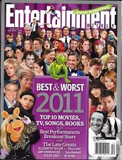 Entertainment Weekly magazine The best and worst in movies TV music Books Video