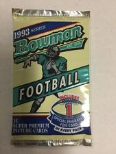 1993 BOWMAN Football Pack 14 Cards Bettis Bledsoe RC ?