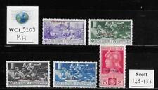 WC1_9209. IT. COL.:ERITREA. 1930 FRANCESCO FERRUCCI set. Scott 129-133. MH