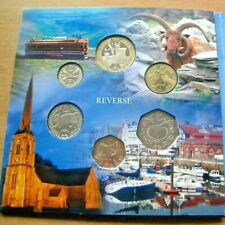More details for unc official 2018 isle of man coin year set - iom manx - free uk post