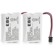 2 Pack Cordless Phone Battery BT446 3.6V 800mAh For Uniden BT-446 BT-1005 BT1005