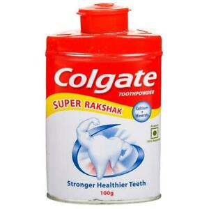 Colgate Toothpowder - with Calcium and Minerals - 100 g | DHL Shipping