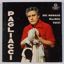 LEONCAVALIO: I Pagliacci Del Monaco, MacNEIL Tucci LONDON Reel to Reel Tape