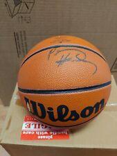 """Anfernee """"Penny"""" Hardaway Autographed Wilson Basketball. UDA."""
