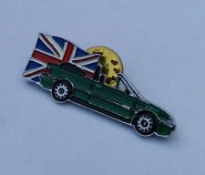 ROVER 214i 214-i CABRIOLET 16V BRITISH RACING GREEN MOTOR CAR PIN BADGE