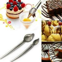 Dessert Decorating Chocolate Spoon Pencil Steel Spoon Y3V2 C9M1