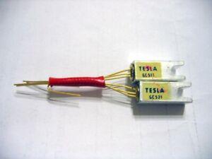 GC511 & GC521 /AC188 & AC187 Pair Germanium Transistors