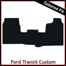 Ford Transit Custom 2013 onwards Tailored Fitted Carpet Car Floor  Mats BLACK