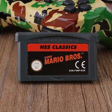 GAMEBOY ADVANCE CLASSIC NES SERIES SUPER MARIO BROS for NINTENDO