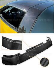 For 05-13 Chevrolet Corvette C6 GM Factory Carbon Fiber Roof B-Pillar Halo Cover