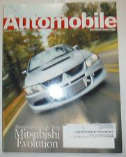 Automobile Magazine Mitsubishi Evolution January 2004 041015R