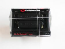 DiMarzio Regular Spaced D Activator Bridge Humbucker Black W/Black Poles Dp 220