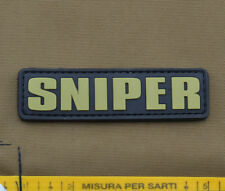 "PVC / Rubber Patch ""SNIPER Tab"" with VELCRO® brand hook"