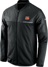 CINCINNATI BENGALS new NIKE SIDELINE ELITE HYBRID FULL ZIP JACKET MEDIUM $100