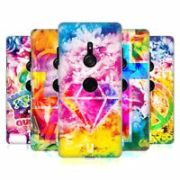 HEAD CASE DESIGNS PSYCHEDELIC FLORALS HARD BACK CASE FOR SONY PHONES 1