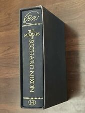 President Richard Nixon Signed Limited Edition Memoirs Slipcase Book