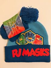 PJ Masks Character Toddler Boys Beanie Hat and Gloves 2 Piece Winter Gift Set