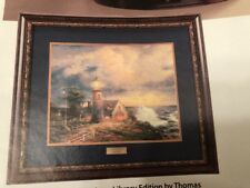 * Home Interiors & Gifts Thomas Kinkade Light In The Storm  Library Print