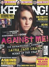 KERRANG! #1543 NOV 2014 AGAINST ME! Gerard Way A DAY TO REMEMBER Pretty Reckless