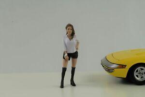 Figurine Partygoers Party Tyler Woman 1:18 American Diorama Figurines VII
