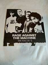 Rage Against The Machine - Live - Irvine Meadow 95 - Vinyle - Rare - Neuf